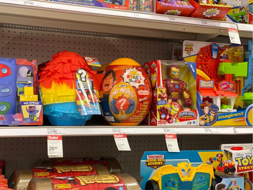 toy egg on shelf at target