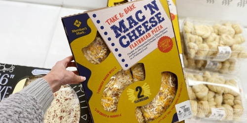 Sam's Club Is Selling Take & Bake Pizza Topped With Mac 'N Cheese