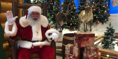 FREE Santa Picture at Bass Pro Shops or Cabela's on November 16th | Includes Free Toy, Craft & More