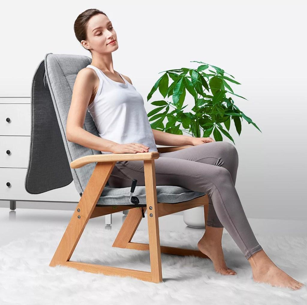 sharper image massage chair