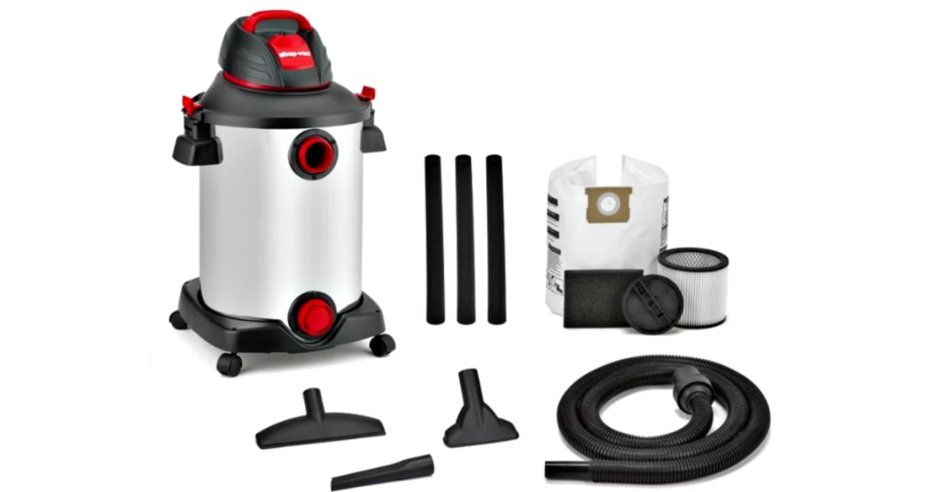 shop vac with accessories