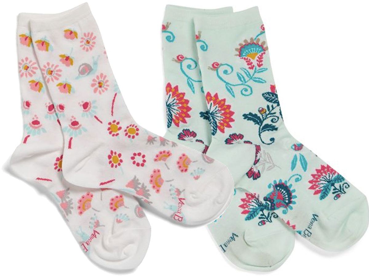 stock image of vera bradley socks