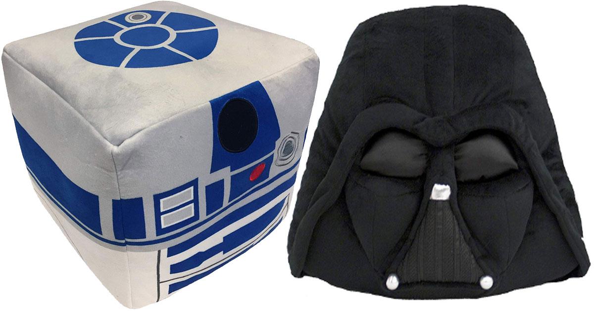 Jay Franco Star Wars R2-D2 Cube Pillow