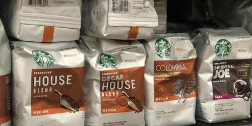 THREE Starbucks 20oz Ground Coffee Bags Only $16 Shipped at Amazon