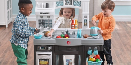 Step2 Modern Cook Play Kitchen Set Only $49.99 Shipped (Regularly $80) + Earn $15 Kohl's Cash