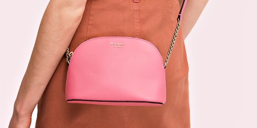 Kate Spade Sylvia Small Dome Crossbody Only $66.50 Shipped + More