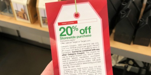 Did You Score a Rare 20% Off Target Purchase Coupon on Black Friday? You Can Use it NOW!