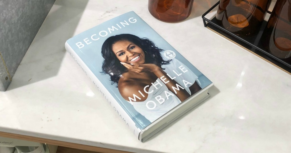 becoming michelle obama book at target