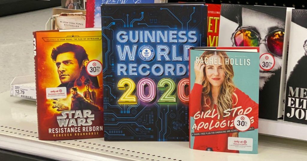 buy 2 get 1 free books at target