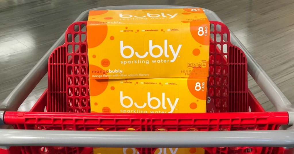 bubly sparkling water at target