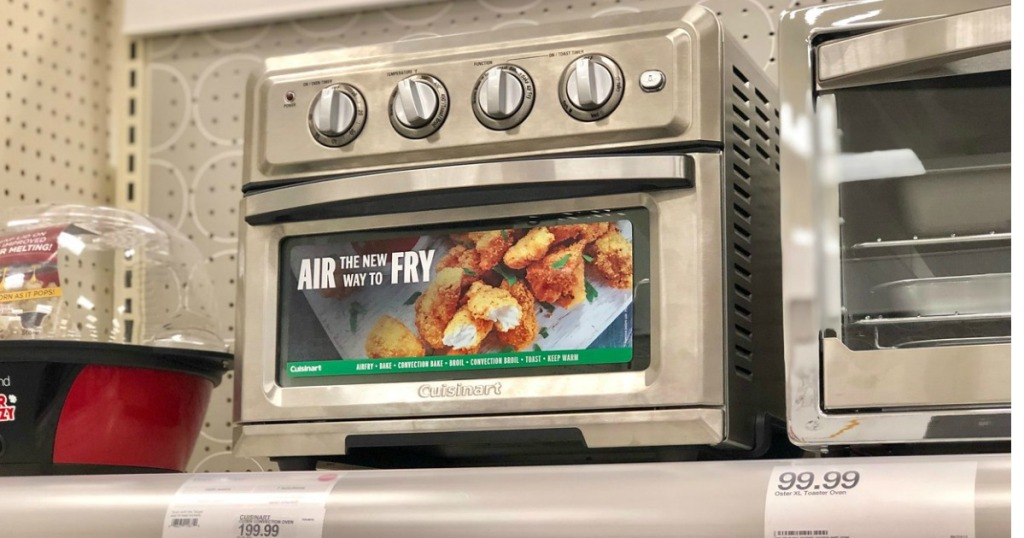 cuisinart air fryer toaster oven at target