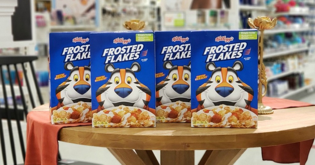 kellogg's frosted flakes at target