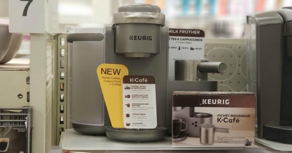 keurig k-cafe coffee maker at target