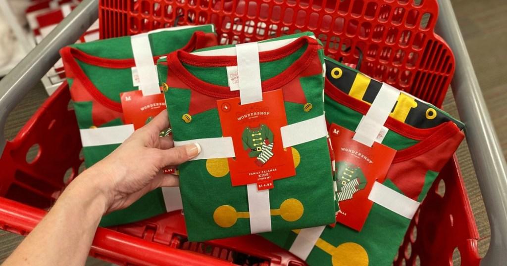 matching family holiday pajamas at target