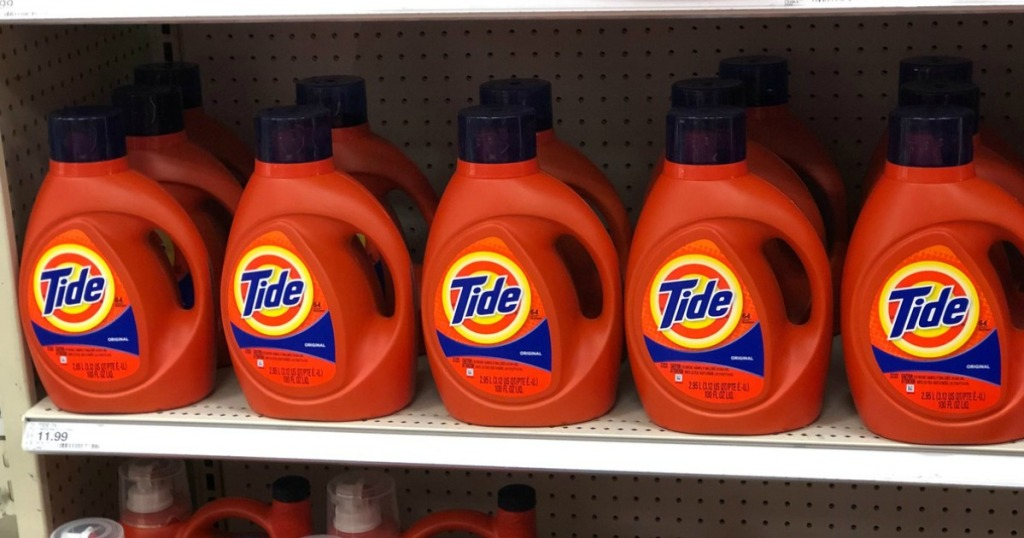 tide liquid laundry detergent at target