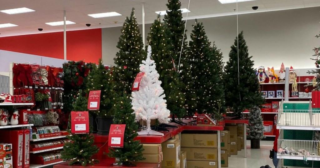 wondershop artificial christmas trees at target