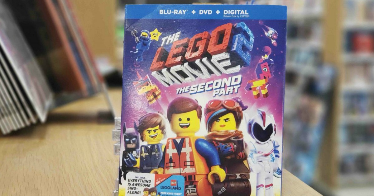 LEGO Movie 2 package on display in store