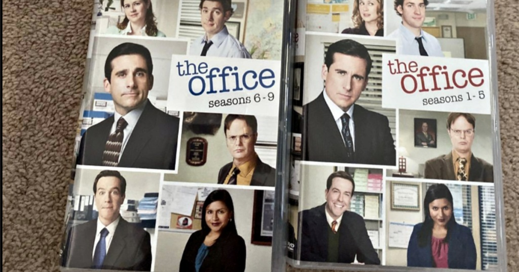 two dvds from the office dvd box set