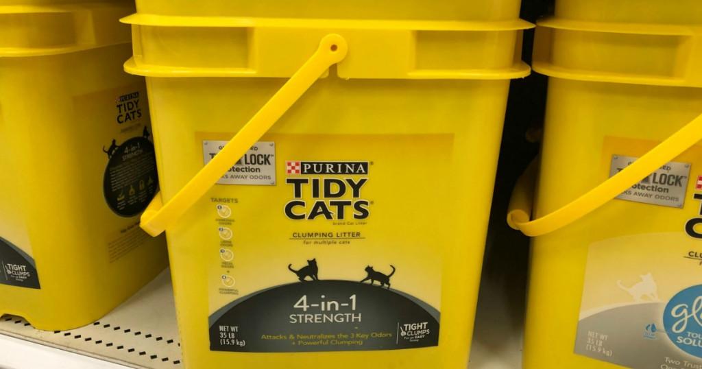 Tidy Cats Cat Litter on Target Shelf