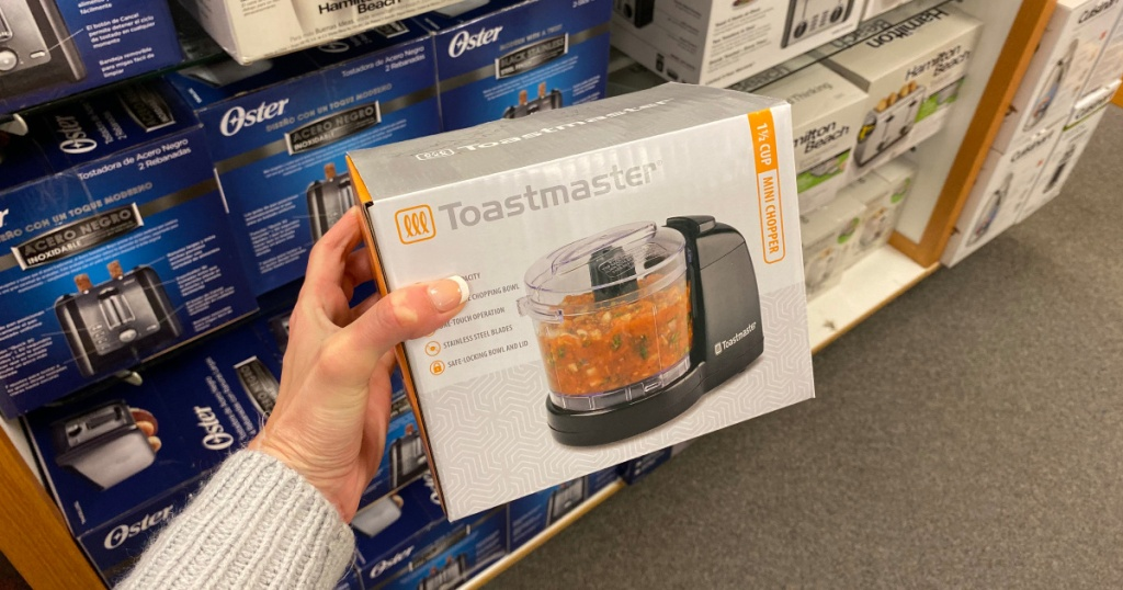 Toastmaster chopper in hand at kohls