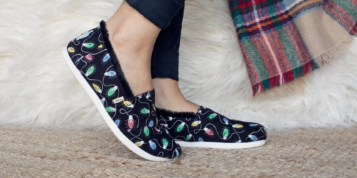 40% Off TOMS Shoes for the Whole Family | Fun Festive Styles