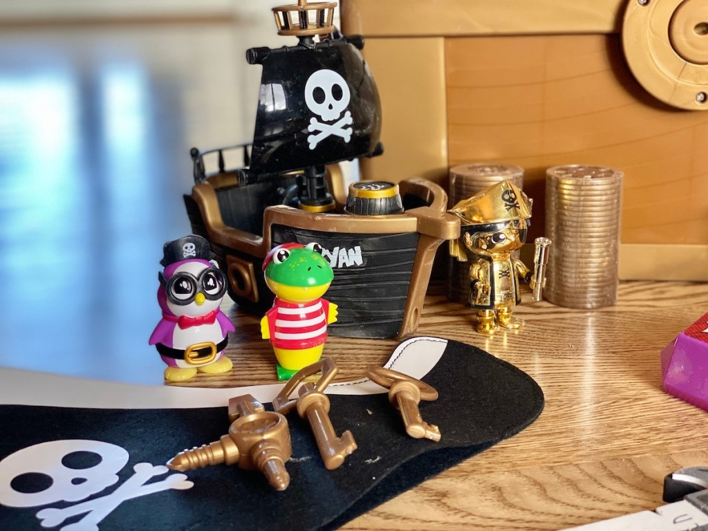 plastic pirate toys from ryans world toy chest