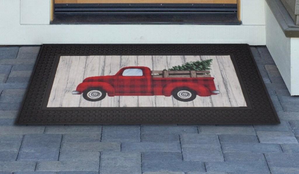 truck door mat from kohls