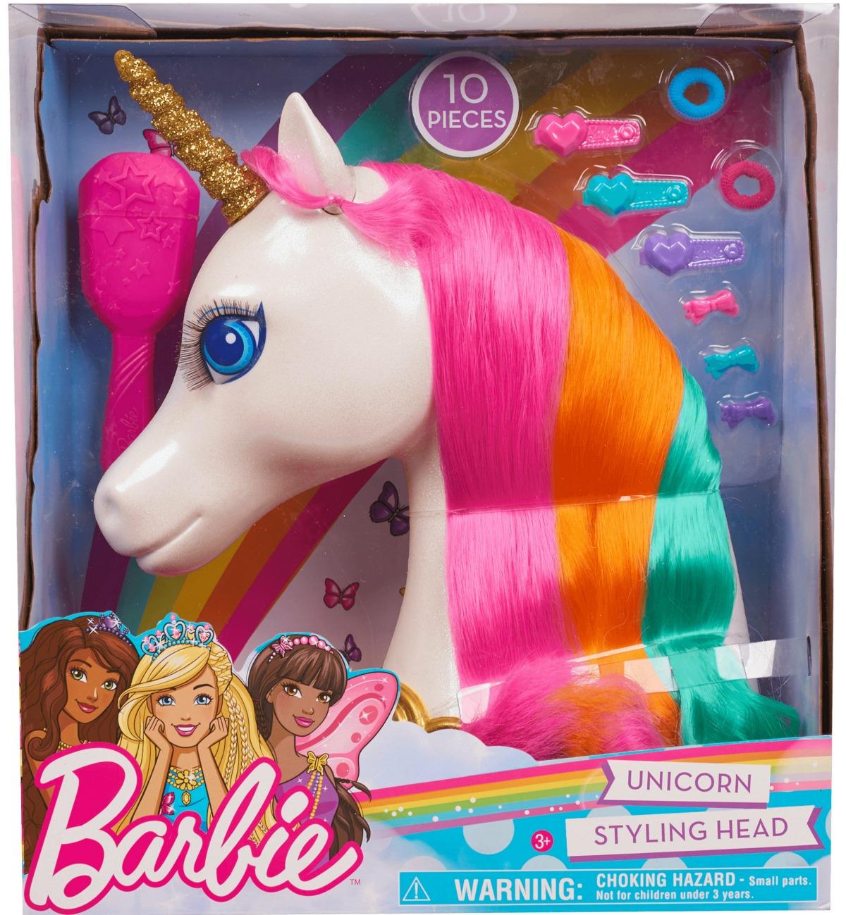 unicorn styling head