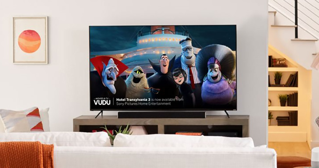 Vizio M-Series Smart TV in family room