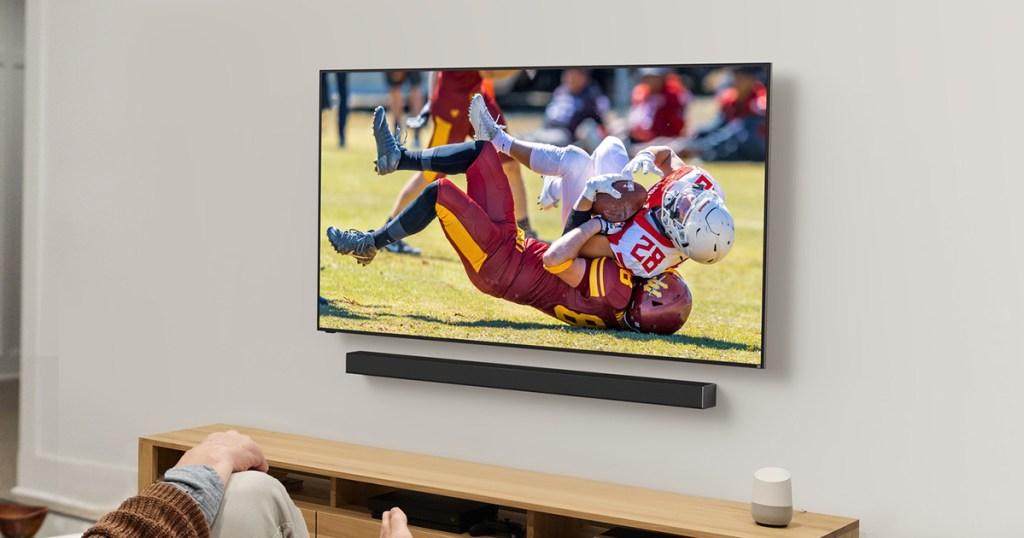 Vizio PX-Series Tv on wall