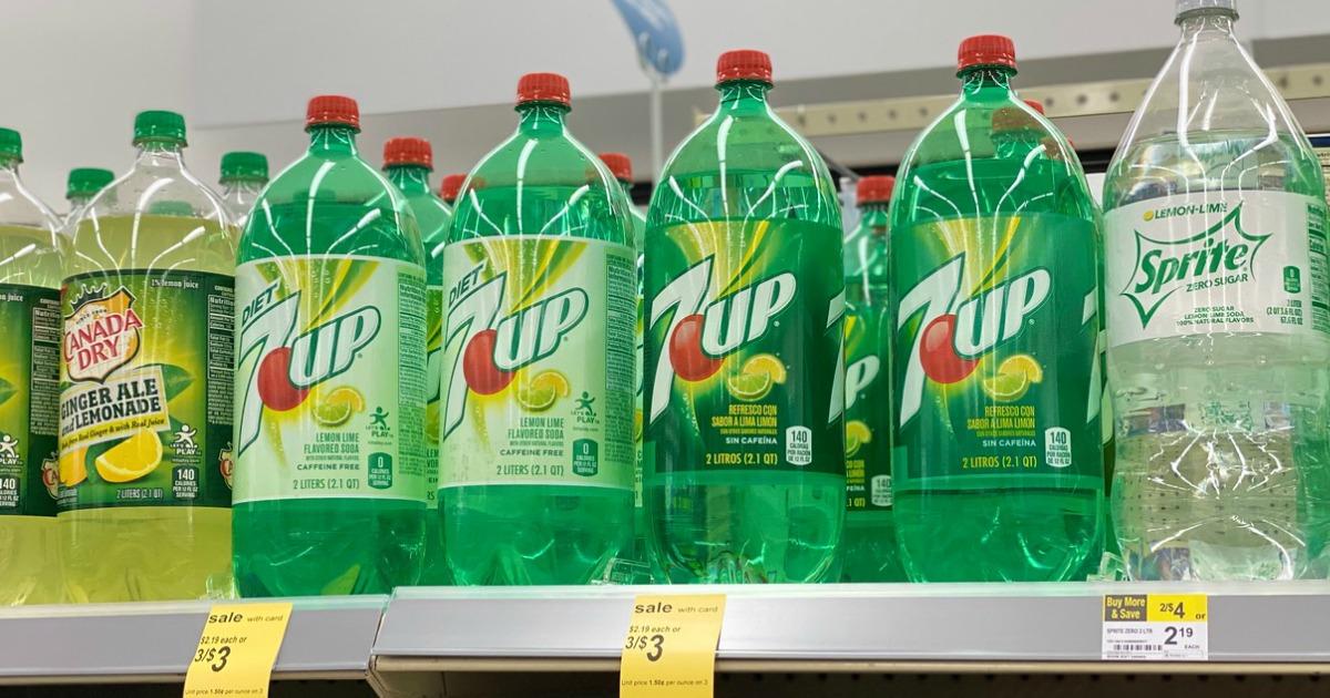 7up 2-liter soda at walgreens