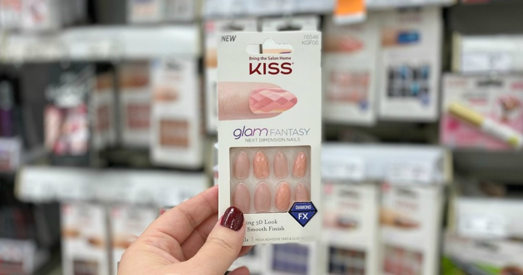 kiss artificial nails on clearance at walgreens