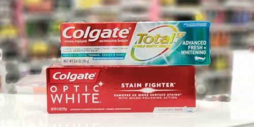 New $1/1 Colgate Toothpaste Coupon = TWO Free Tubes After Walgreens Rewards