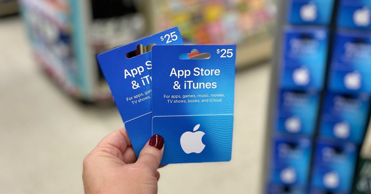app store & itunes gift cards at walgreens