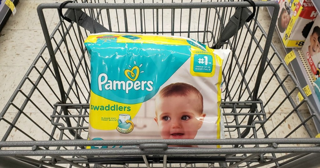 pampers swaddlers at walgreens