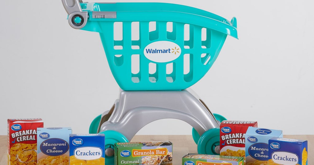 Walmart Spark Shop >> Spark Shopping Cart Food Play Set Possibly Only 2 50 At