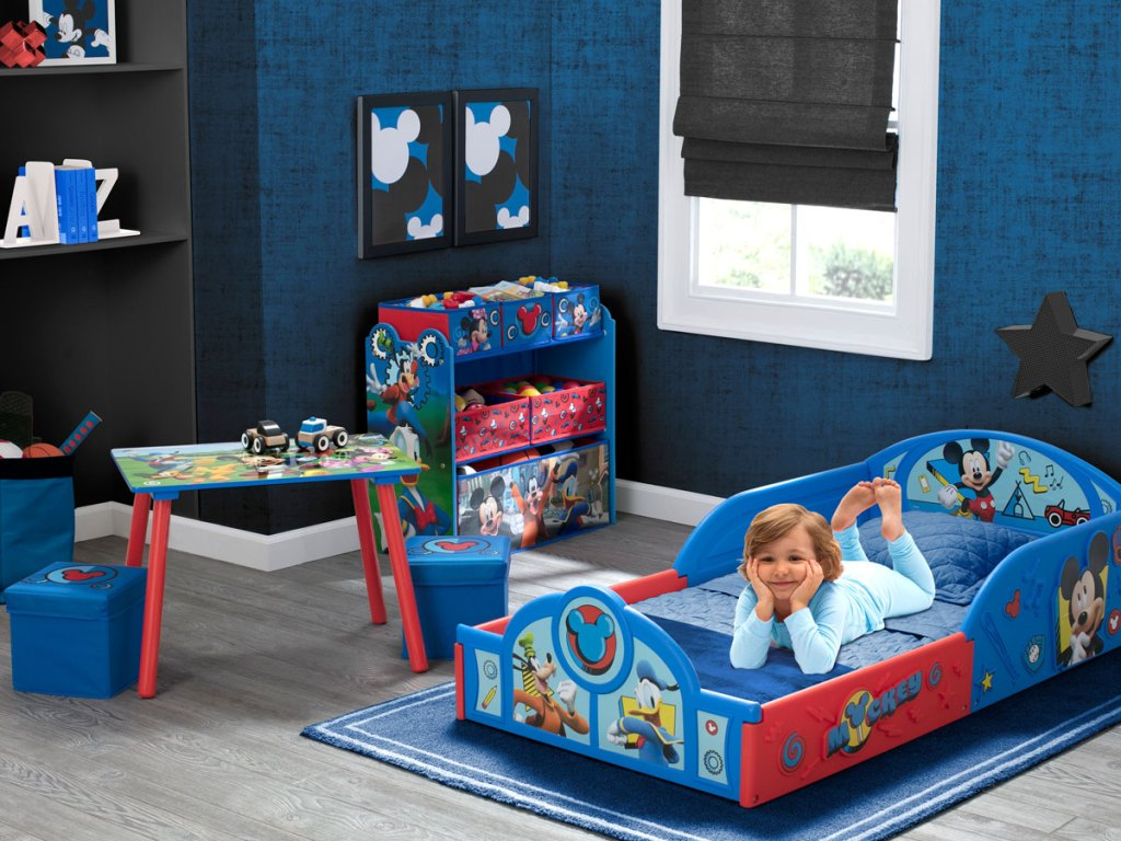 Disney Mickey Mouse 5-Piece Toddler Bedroom Set by Delta Children