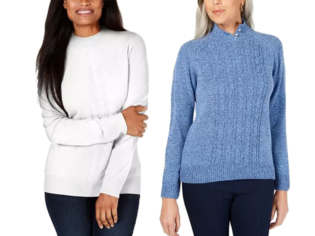 macy's women's cardigans and sweaters