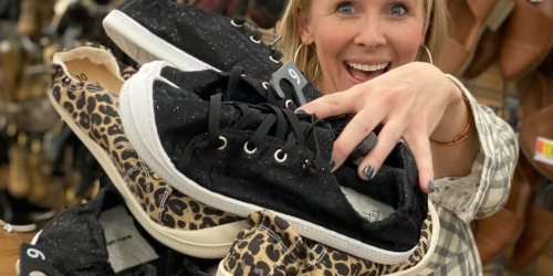 We're Obsessed With These Under $10 Canvas Sneakers From Walmart