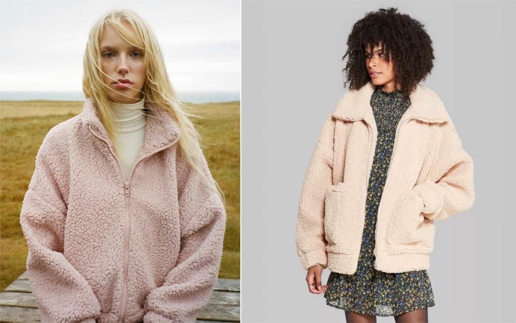 Women's Sherpa Jackets