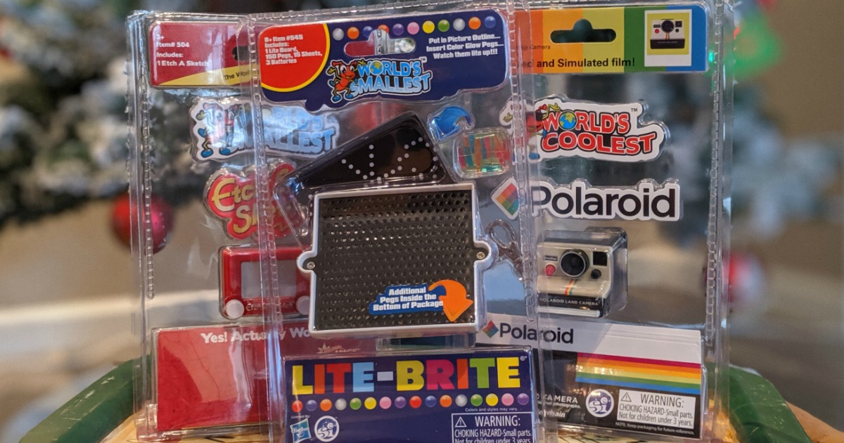 small assortment of toys