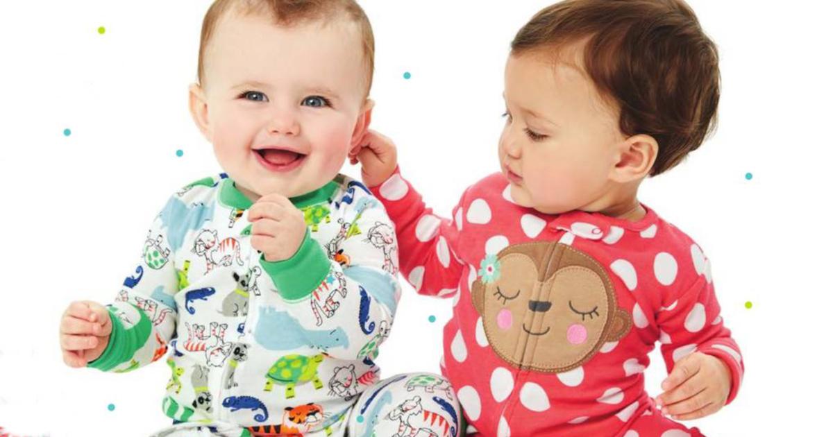 Carters Baby-Boys 2-Pack Fleece Pajama Set