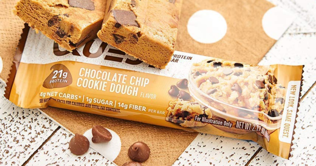 Question Nutrition bars Chocolate Chip Cookie Dough