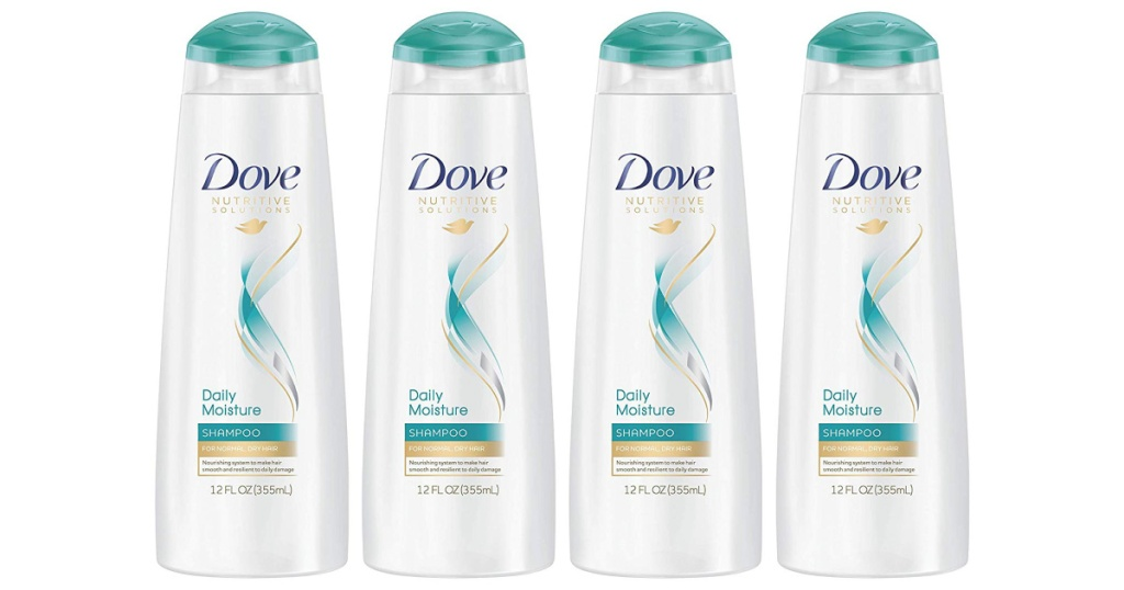 Dove Nutritive Shampoo 4-Pack