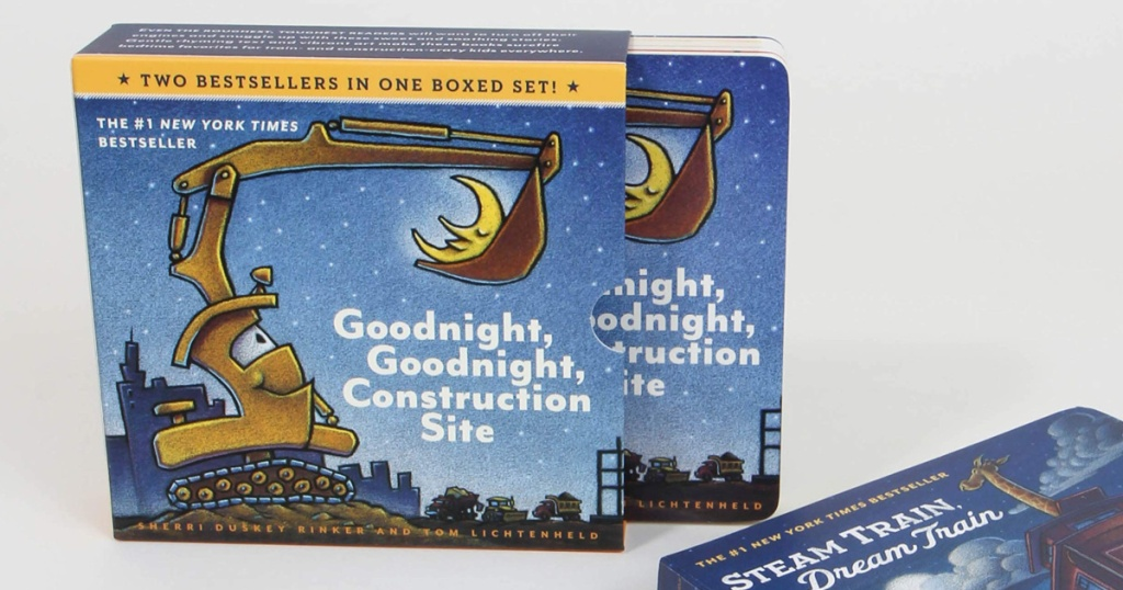 Goodnight, Goodnight, Construction Site Boxed set Books