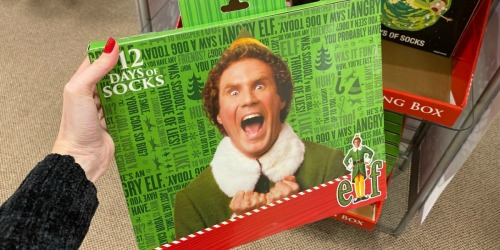 12 Days of Socks Advent Calendars Only $11 at JCPenney (Regularly $40) | Star Wars, Elf & More