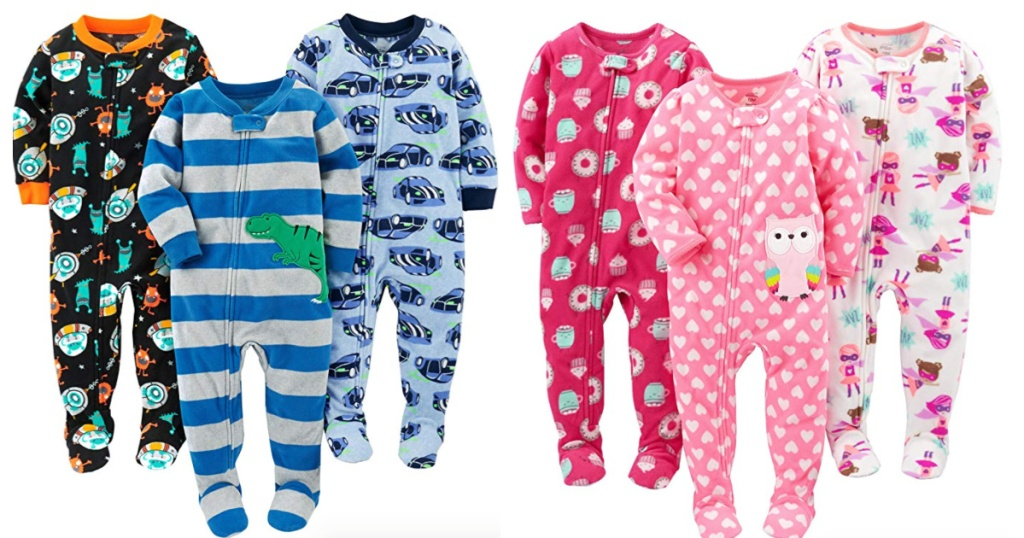 Simple Joys by Carters footed sleepers