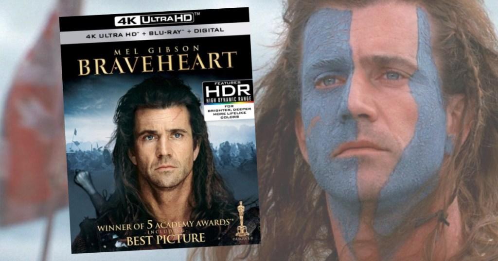 Braveheart Ultra 4k dvd blu-ray