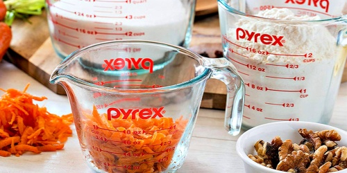 Pyrex Glass Measuring Cups 4-Piece Set Only $18.99