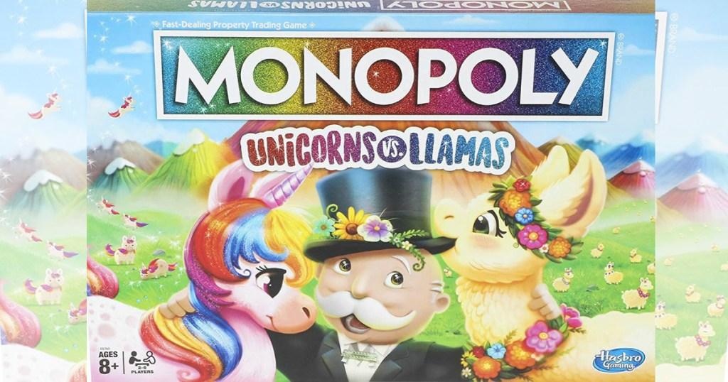 Monopoly Unicorns versus Llamas at Amazon